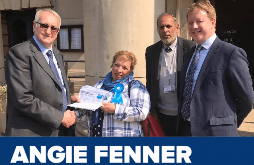 Angie Fenner, Conservative Candidate for Ravensthorpe