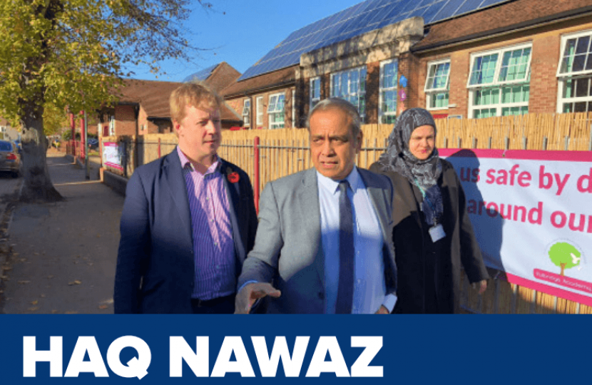 Haq Nawaz, Consrvative candidate for North Ward
