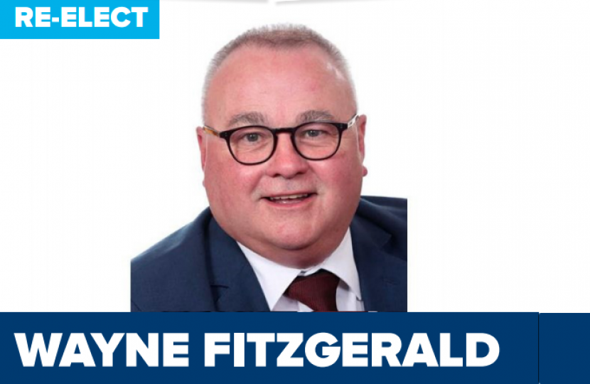 Councillor Wayne Fitzgerald for West Ward