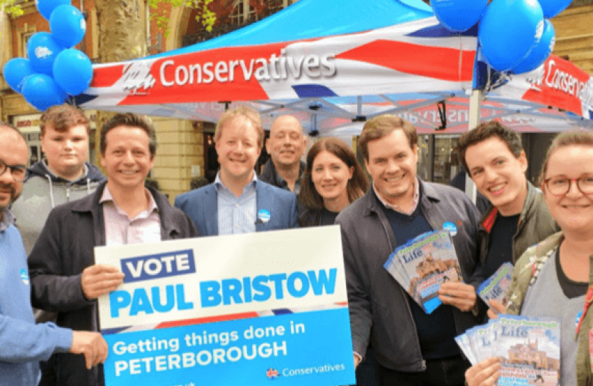 Paul Bristow launch event in Bridge Street 1